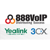 888VoIP, Yealink, and 3CX
