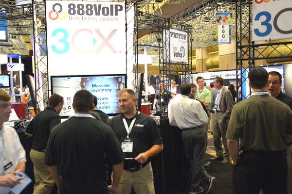 3CX 888VoIP by TMC 888VoIP: Platinum Sponsor of ITEXPO West 2014